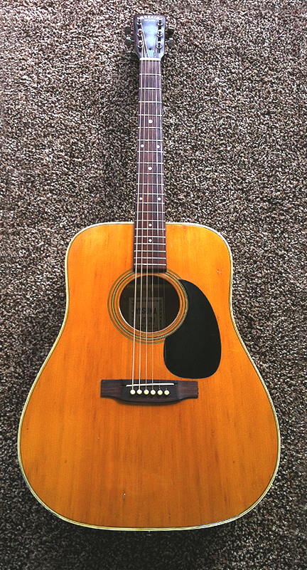 Japanese Yasuma Angelica Deluxe Acoustic Guitar Martin