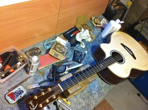 Guitar restring north east