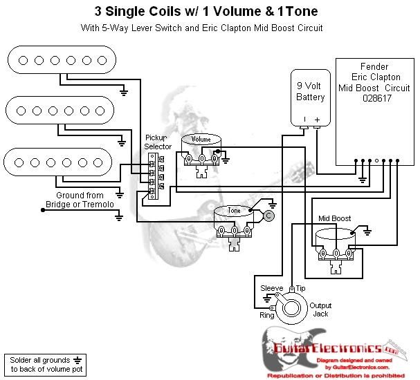 Wiring Diagram For Fender Clapton Mid Boost Kit - Wiring ... on telecaster 3-way switch wiring diagram, telecaster texas special wiring diagram, fender marauder wiring diagram, fender amp wiring diagram, fender esquire wiring-diagram, seymour duncan telecaster wiring diagram, fender amplifier wiring diagram, emg telecaster wiring diagram, fender telecaster three-way diagram, fender blues junior wiring diagram, fender musicmaster wiring diagram, fender hm strat wiring diagram, fender stratocaster wiring-diagram, dean ml wiring diagram, fender toronado wiring diagram, fender bronco wiring diagram, gibson lp wiring diagram, fender deluxe wiring diagram, starcaster by fender wiring diagram, gibson thunderbird wiring diagram,