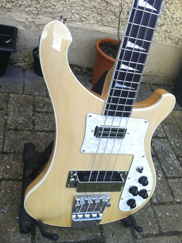 Fake Rickenbacker 4003 Electric Bass Guitar John