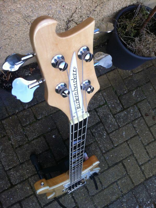Fake Rickenbacker 4003 Electric Bass Guitar John