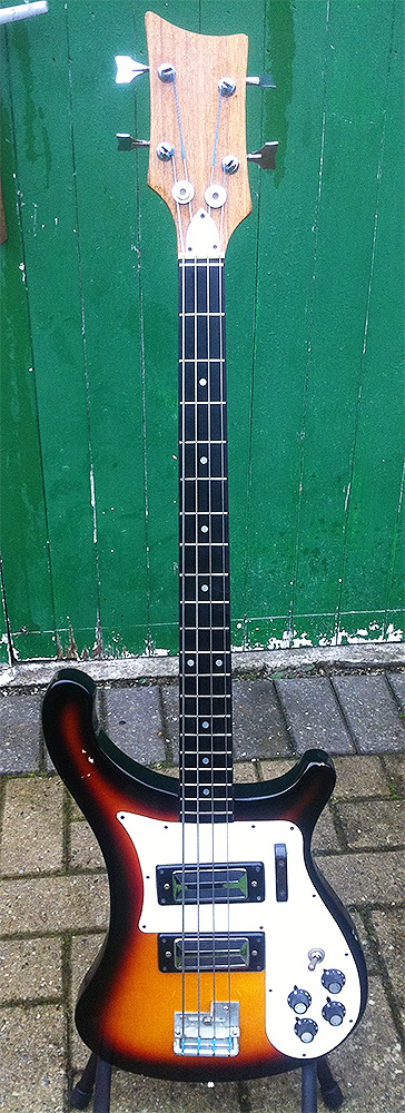 Kay K-20B Bass Guitar Short-scale Rickenbacker 4001 – 1970s Teisco ...