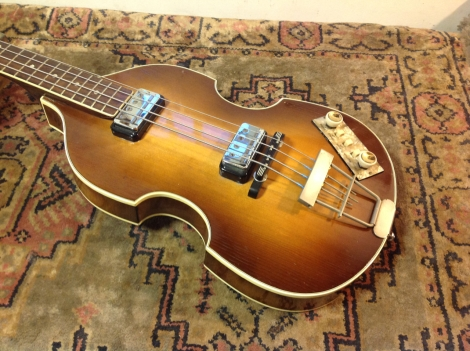 1962 Hofner violin bass guitar
