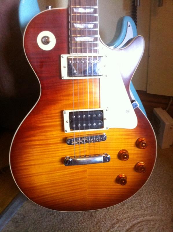 fake chibson jimmy page 2 les paul teardown john wesley guitar repairs. Black Bedroom Furniture Sets. Home Design Ideas